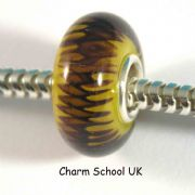European Style Beads With Sterling Silver Core (8032)